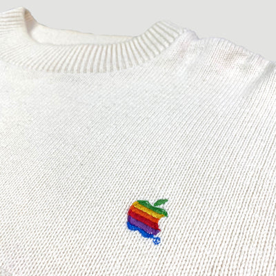 Early 90's Apple Knitted Jumper