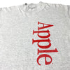 Early 90's Apple Spell Out Long Sleeve T-Shirt