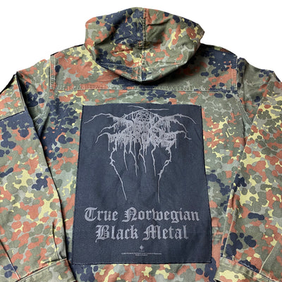 90's Black Metal German Army Smock Jacket