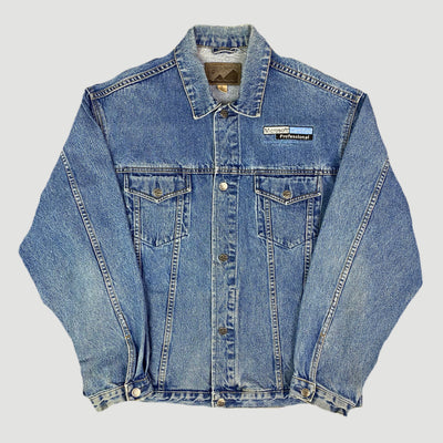 90's Microsoft 'Certified Professional' Denim Jacket