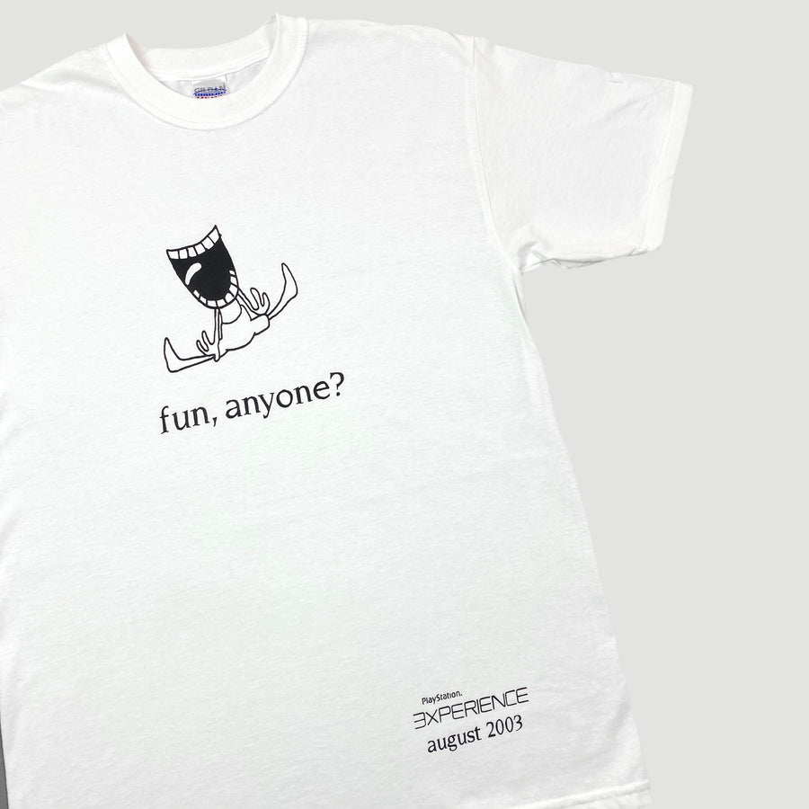 2003 PlayStation Experience 'Fun Anyone' T-Shirt