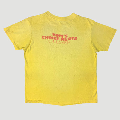 Late 70's Tom's Meat T-Shirt