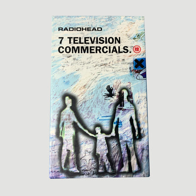 1998 Radiohead '7 Television Commercials' VHS