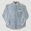 90's National Geographic Denim Chambray Work Shirt