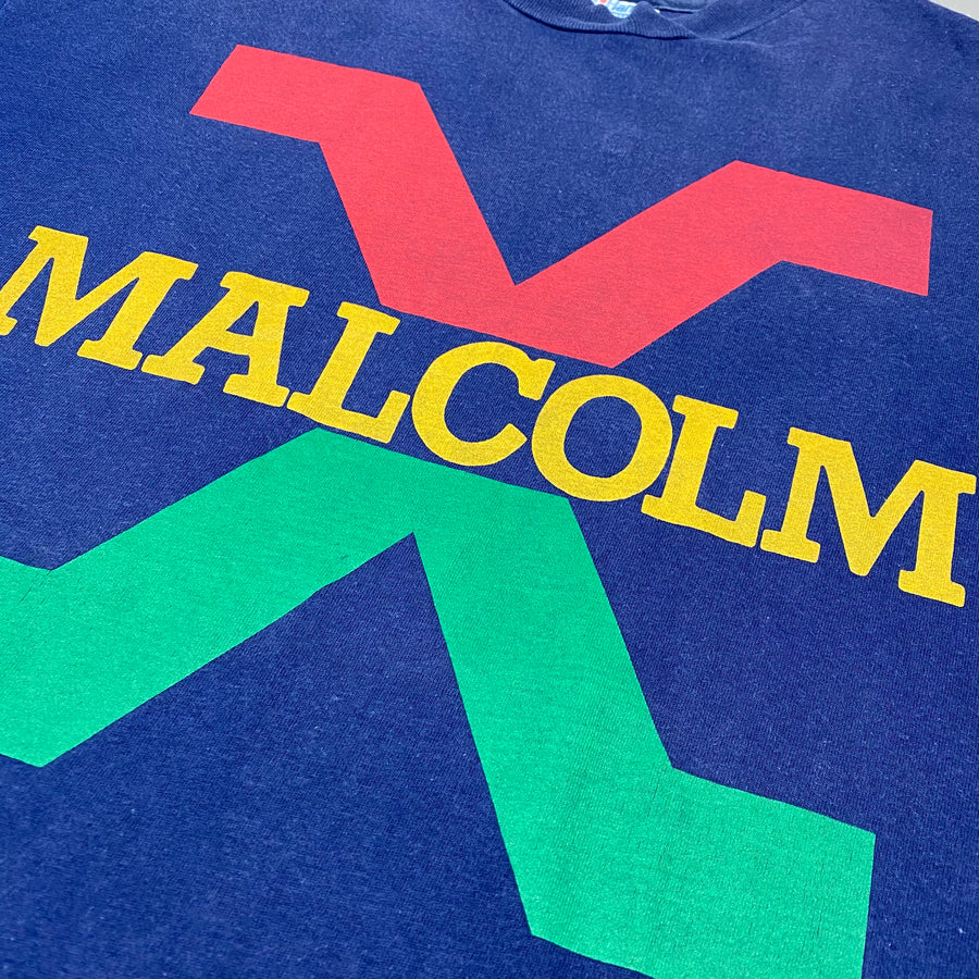 Early 90's Malcolm X T-Shirt