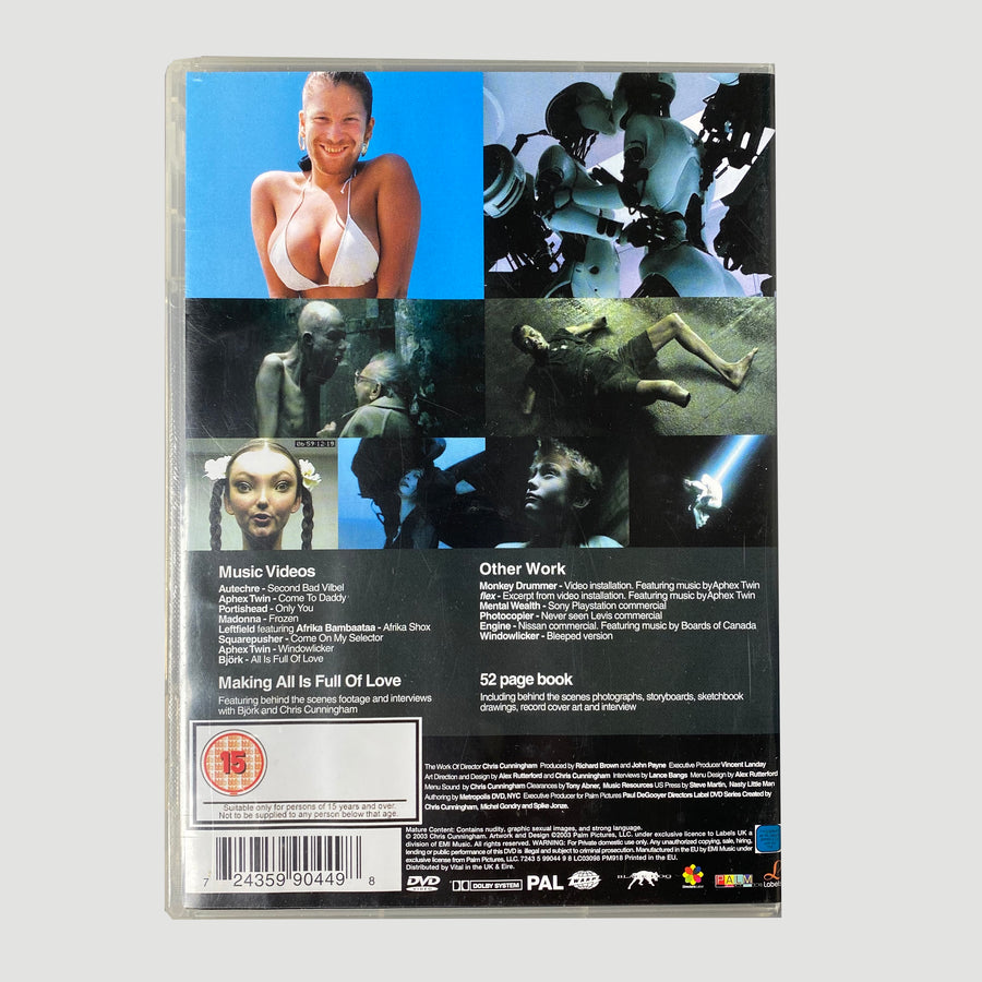 2003 The Work Of Director Chris Cunningham DVD
