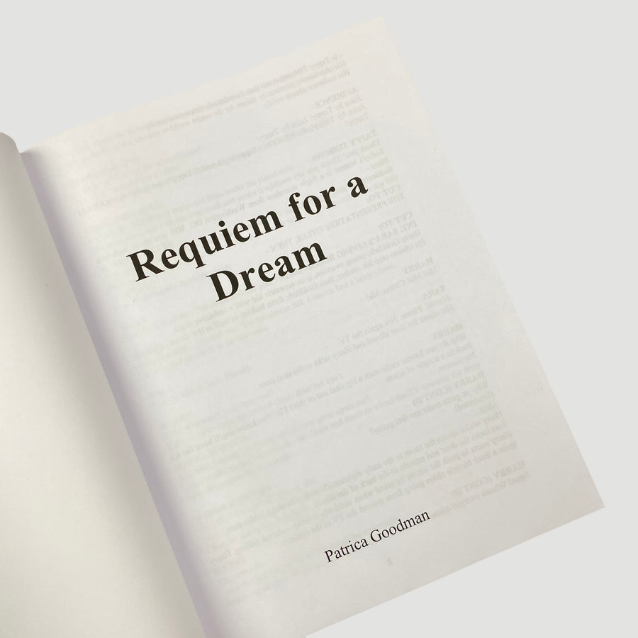 2020 Requiem for a Dream: Screenplay