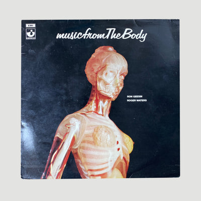 1970 Ron Geesin & Roger Waters ‎'Music From The Body' LP
