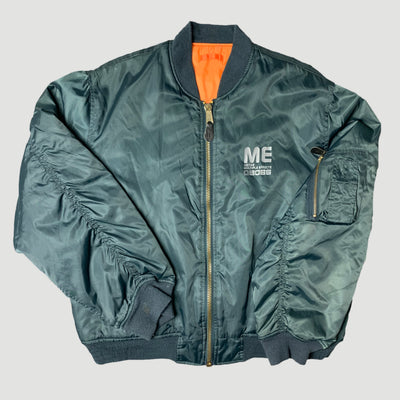 90's Boss ME-80 Bomber Jacket