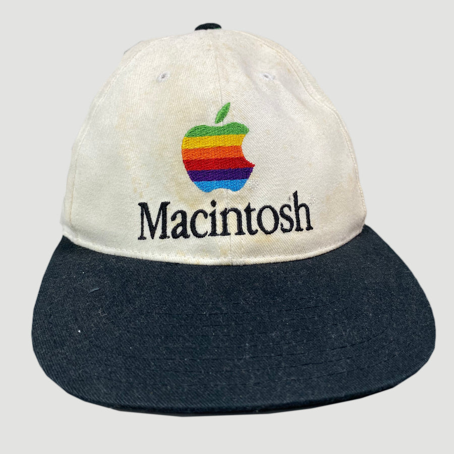 90's Apple Macintosh Snapback Cap