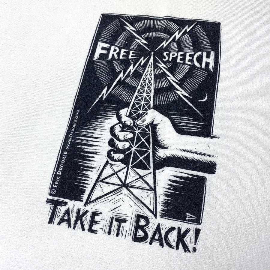 Late 90's 'Free Speech' T-Shirt
