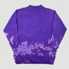 90's Bleached Purple Basic Oversized Sweatshirt