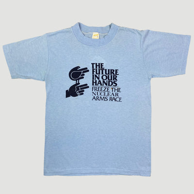 80's 'Freeze The Nuclear Arms Race' T-Shirt