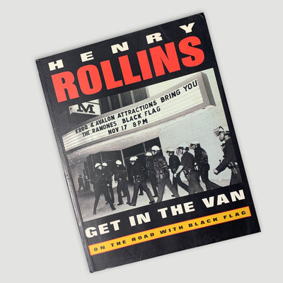 1995 Henry Rollins 'Get In The Van'