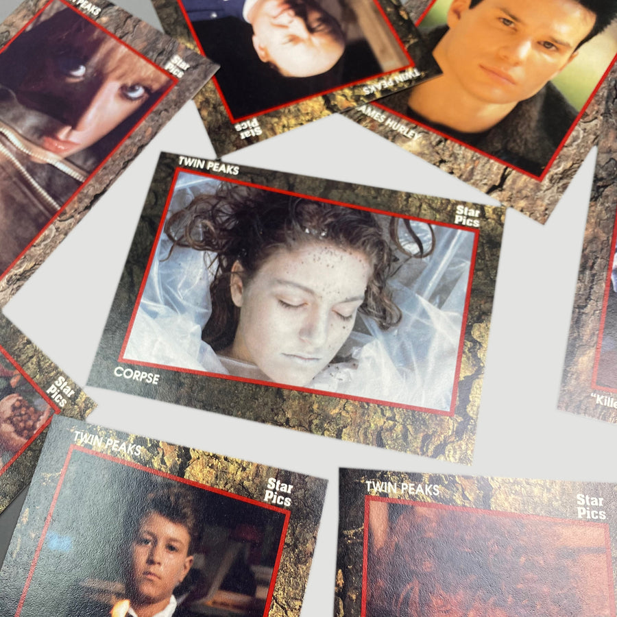 1991 Twin Peaks Trading Cards Boxed Set