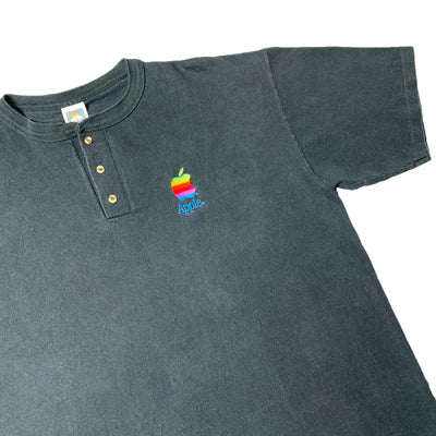 Early 90's Apple Henley Shirt