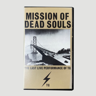 1991 Throbbing Gristle 'Mission of Dead Souls' VHS