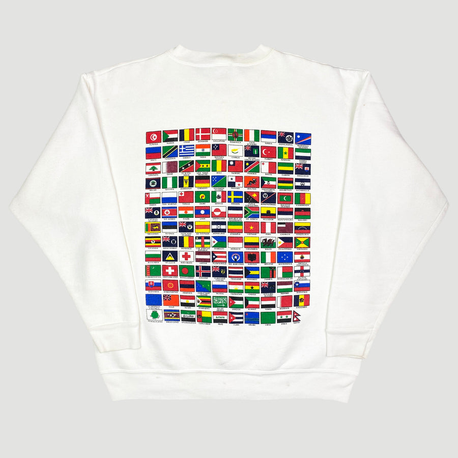 90's Citizen of the World Sweatshirt