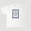 Mid 90's Oscar Wilde 'I Have Nothing To Declare Except My Genius' T-Shirt