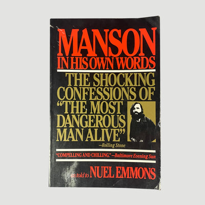 1986 Neul Emmons 'Manson In His Own Words'