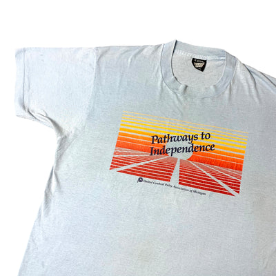 Mid 90's UCP 'Pathways To Independence' T-Shirt