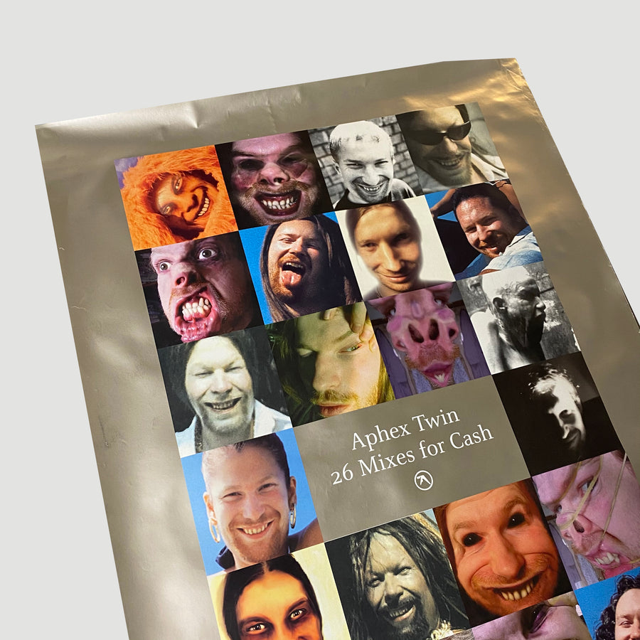 2003 Aphex Twin '26 Mixes for Cash' Poster