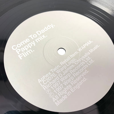 1997 Aphex Twin 'Come To Daddy' 12""