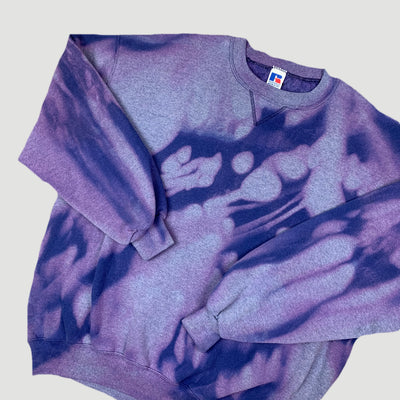 90's Russell Athletic Purple Sweatshirt