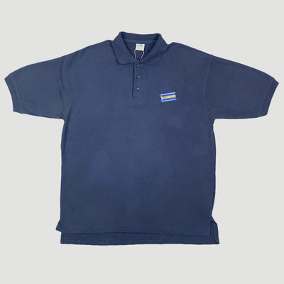 Mid 90's Blockbuster Video Staff Polo Shirt