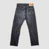 90's Faded Black Levis 501 Red Tab Jeans