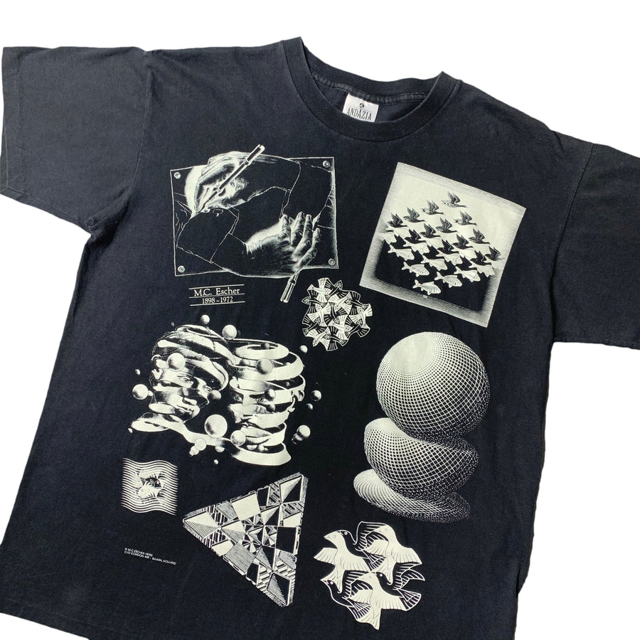 1990 M.C. Escher Heirs T-Shirt
