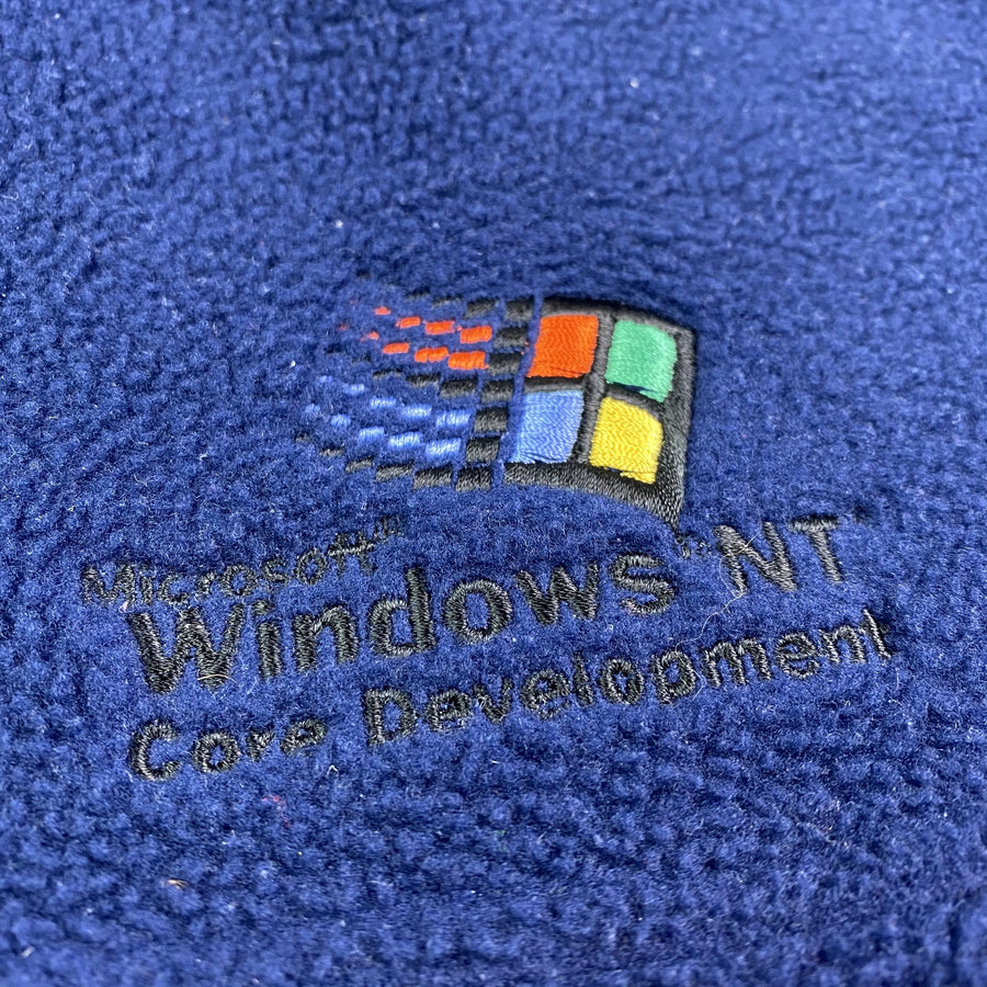 Mid 90's Microsoft Windows Fleece Gilet