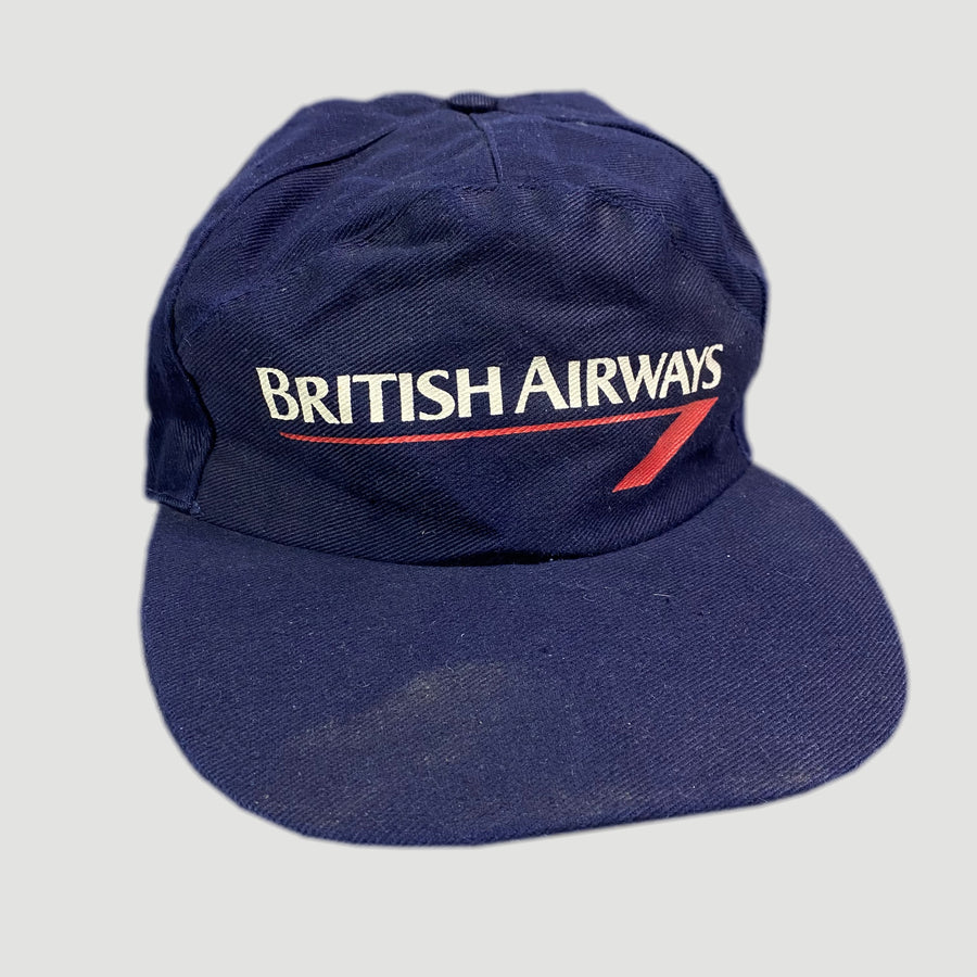 90's British Airways Snapback Cap