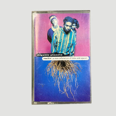 1993 Digable Planets 'Reachin' (A New Refutation Of Time And Space)' Cassette