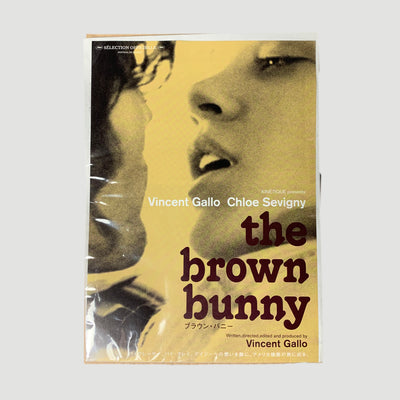 2003 The Brown Bunny Japanese B5 Poster