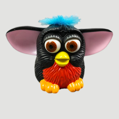 1998 Furby (Black/Red) Figure
