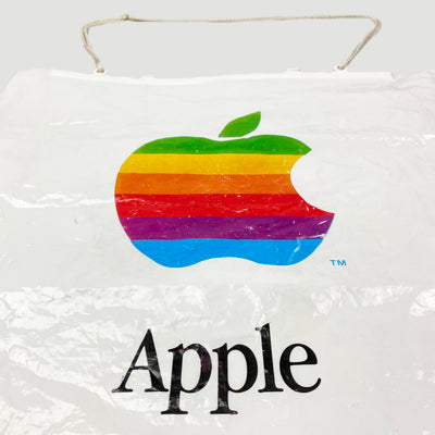 90's Apple Carrier Shopping Bag