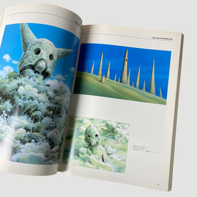 2001 Art of Nausicaä of the Valley of the Wind' Mook