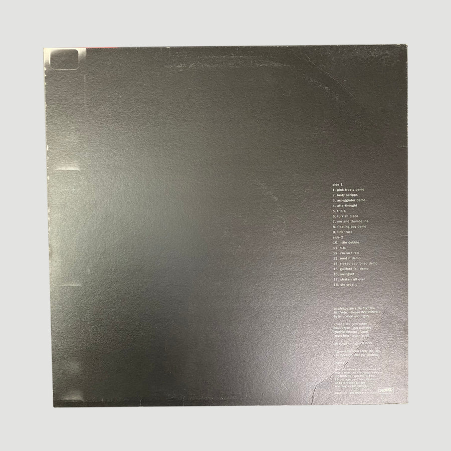1999 Fugazi 'Instrument Soundtrack' LP