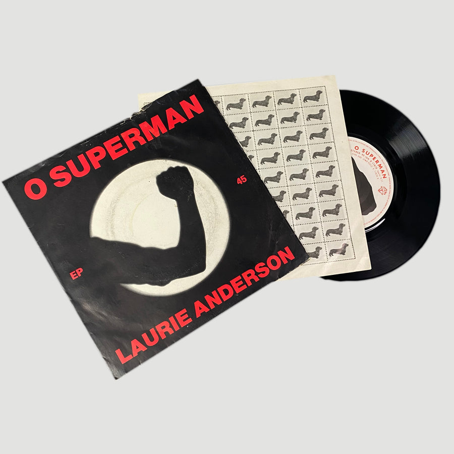 "1981 Laurie Anderson 'O Superman' 7"" Single"