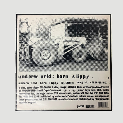 1995 Underworld 'Born Slippy' 12""