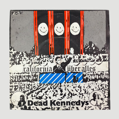 "Mid 80's Dead Kennedys 'California Über Alles' 7"" Single"
