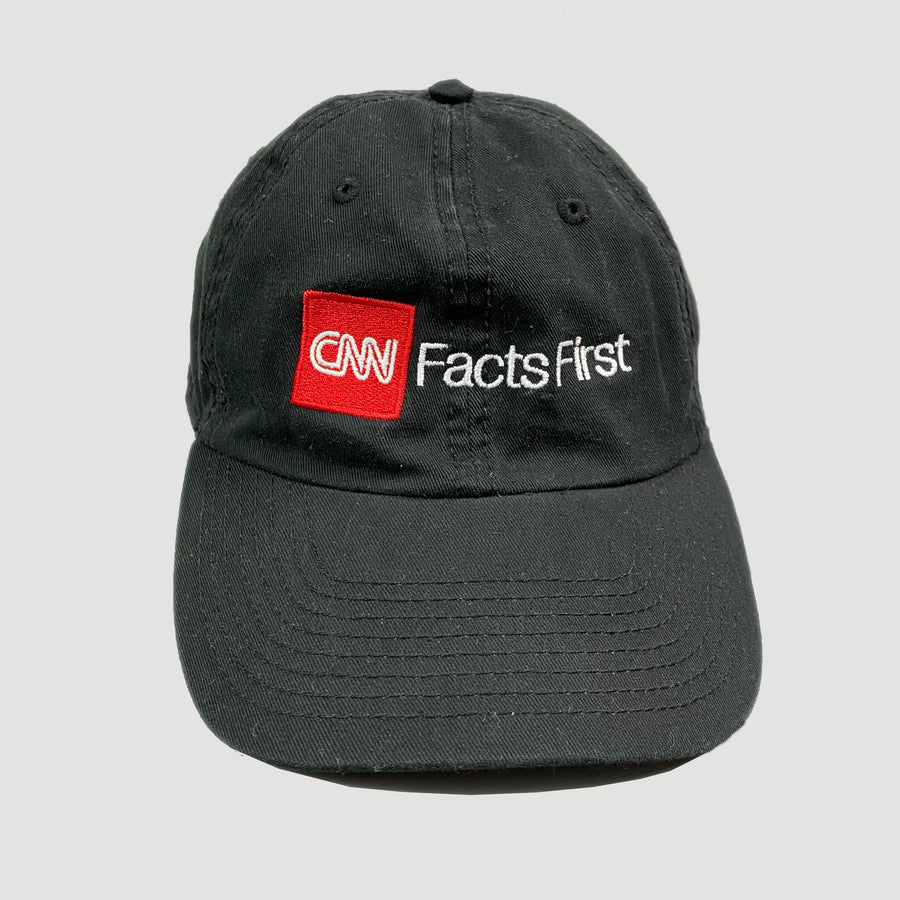 90's CNN 'Facts First' Strapback Cap