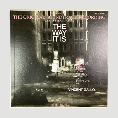 1993 Vincent Gallo 'The Way It Is' Soundtrack LP