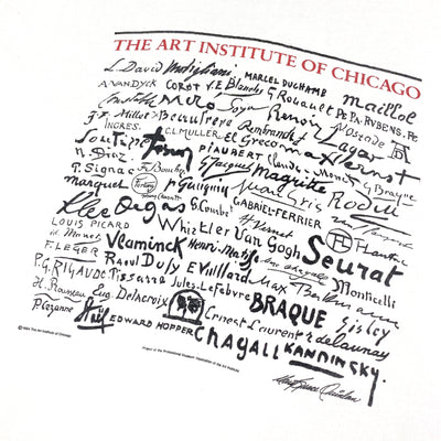 90's Art Institute Of Chicago T-Shirt