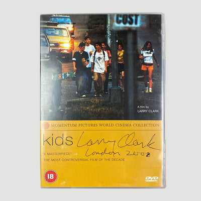 2001 Kids DVD Signed by Larry Clark