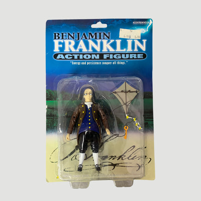 Early 00's Benjamin Franklin Action Toy