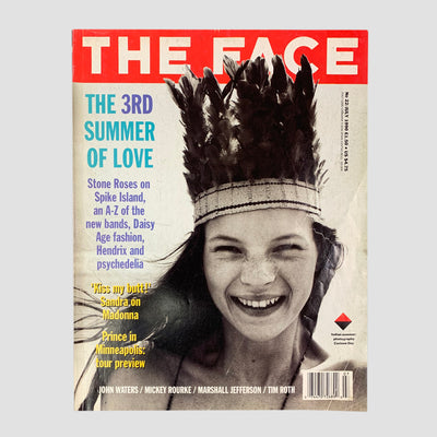 1990 The Face Magazine Kate Moss Issue