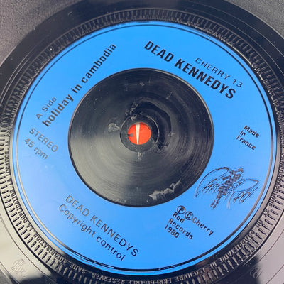 "1980 Dead Kennedys 'Holiday In Cambodia' 7"" Single"