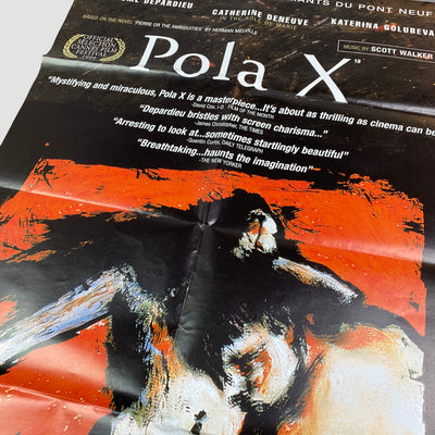 1999 'Pola X' UK Cinema Poster